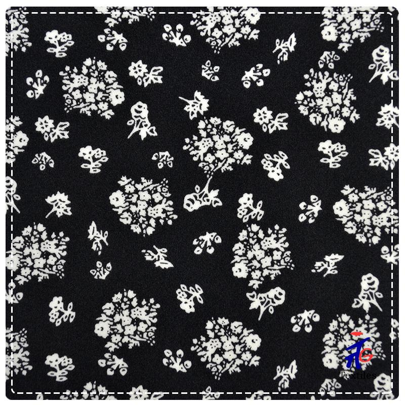 2013 Vogue Design Nylon Spandex Snowflower Swimwear Fabric