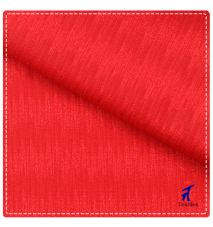 red color stretch jacquard lingerie fabric
