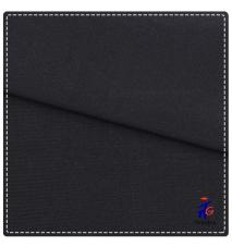 hot sale pure black poly spandex fabric