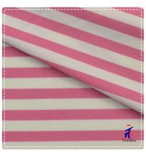 86%nylon 14%spandex microfiber pink and red stripes design fabric