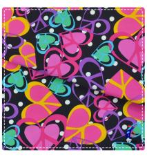 colorful lovely heart print ...